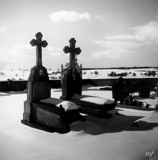 Alter Friedhof in Frankreich