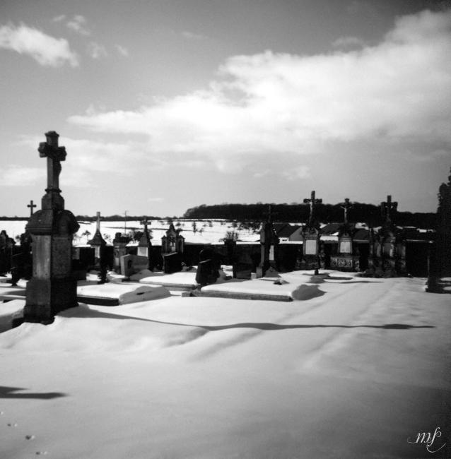 Friedhof in Frankreich