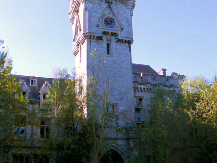 The tower (Château de Noisy)