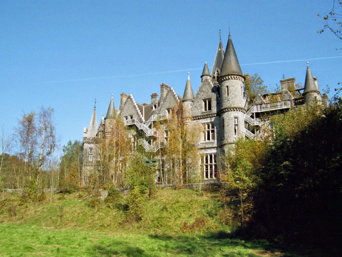 Backside (Château de Noisy)