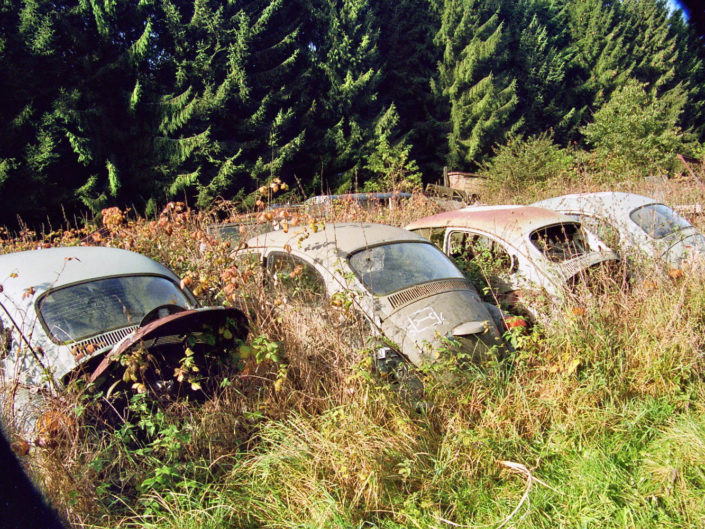 VW in a row (Traction Sud)