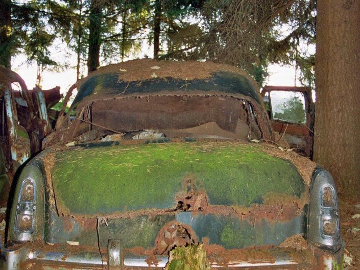 Green (Car cemetery Châtillon)